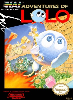 The Adventures of Lolo cover