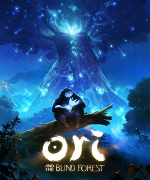 The cover of Ori and the Blind Forest