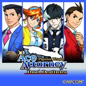 Phoenix Wright: Ace Attorney -Dual Destinies cover