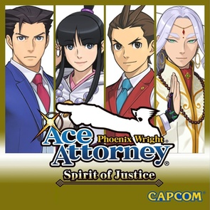 Cover for Phoenix Wright: Ace Attorney - Spirit of Justice