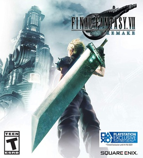 Cover of Final Fantasy VII Remake cover