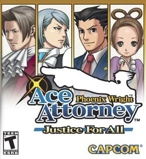 Phoenix Wright: Ace Attorney - Justice for All cover