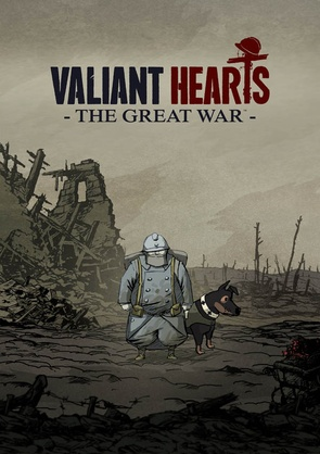 The cover of Valiant Hearts: The Great War